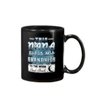 THIS NANA LOVES GRANDKIDS Mug tile
