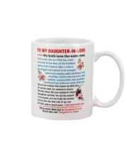 To My Daughter-In-Love Mug front