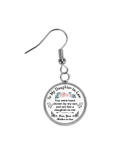 To My Daughter-In-Law - Family Tree Circle Earrings tile