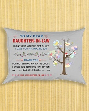 To My Daughter-In-Law - Family Tree Rectangular Pillowcase aos-pillow-rectangle-front-lifestyle-6