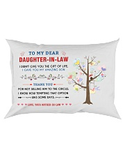 To My Daughter-In-Law - Family Tree Rectangular Pillowcase front