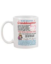 Granddaughter Mug back