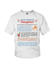 To My Beloved Daughter Youth T-Shirt thumbnail