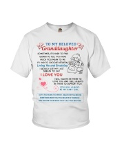 To My Beloved Granddaughter Youth T-Shirt thumbnail