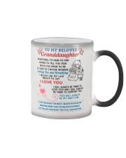 To My Beloved Granddaughter Color Changing Mug thumbnail
