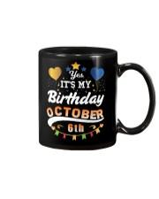 October 6th Birthday Gift T-Shirts Mug thumbnail