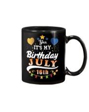 July 16th Birthday Gift T-Shirts Mug thumbnail