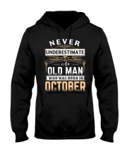 THE BEST OLD MAN - OCTOBER Hooded Sweatshirt thumbnail