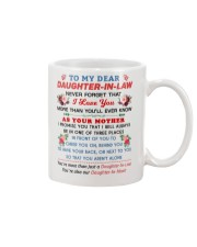 To my dear Daughter-In-Law Mug thumbnail