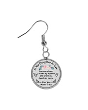 To my dear Daughter-In-Law Circle Earrings front