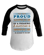 Proud Daughter-In-Law Baseball Tee thumbnail