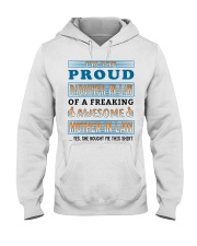 Proud Daughter-In-Law Hooded Sweatshirt thumbnail