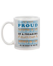 Proud Daughter-In-Law Mug back