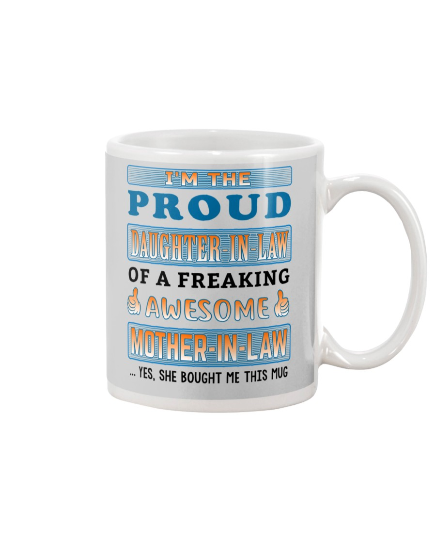 Proud Daughter-In-Law Mug