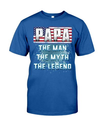 Papa Legend Fathers Day Independence Day