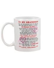 GRANDMA - TO MY GRANDSON Mug back