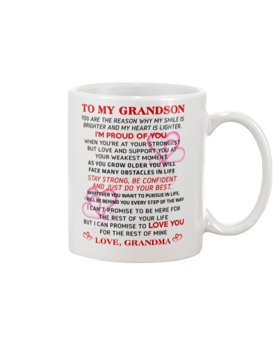 GRANDMA - TO MY GRANDSON