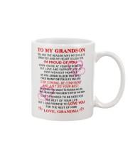 GRANDMA - TO MY GRANDSON Mug front