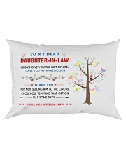 To My Daughter-In-Law - Family Tree Rectangular Pillowcase thumbnail