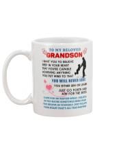 Grandson - Grandpa Mug back