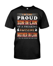 Proud Son-In-Law Classic T-Shirt front