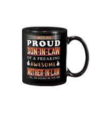 Proud Son-In-Law Mug tile