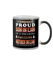 Proud Son-In-Law Color Changing Mug tile