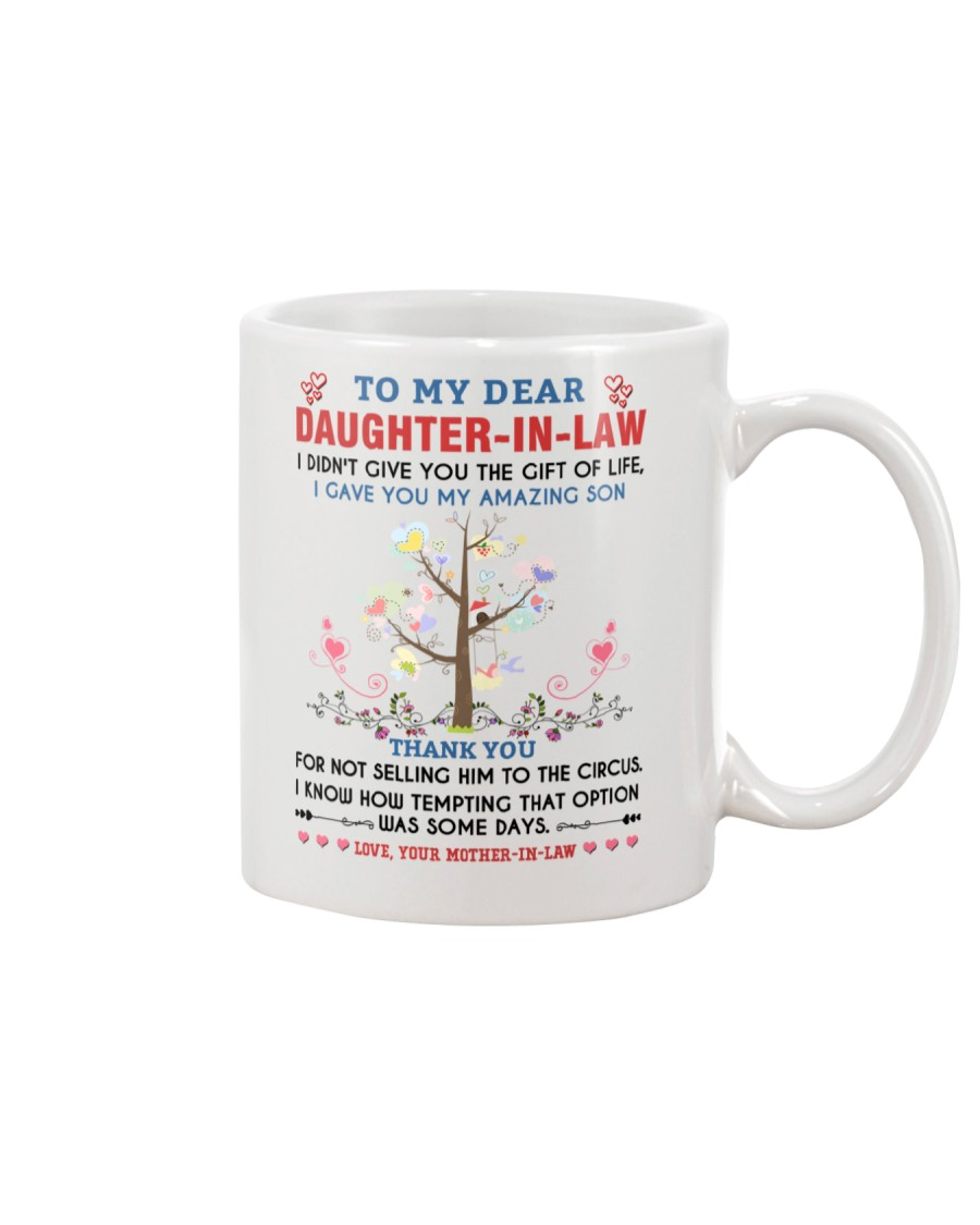 To My Daughter In Law Mug
