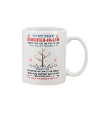 To My Daughter In Law Mug front