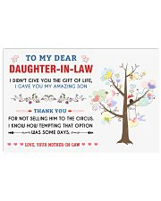 To My Daughter In Law 17x11 Poster thumbnail