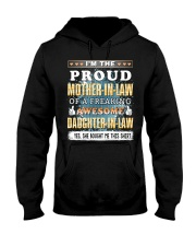 To My Mother-In-Law Hooded Sweatshirt thumbnail