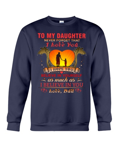 TO MY DAUGHTER BELIEVE - DAD