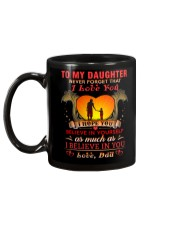 TO MY DAUGHTER BELIEVE - DAD Mug back