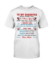To My Daughter - Mum Classic T-Shirt thumbnail