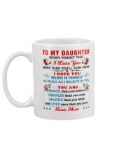To My Daughter - Mum Mug back