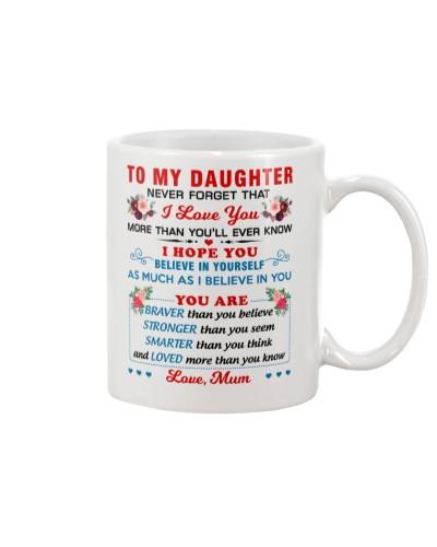 To My Daughter - Mum