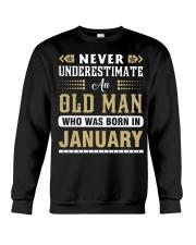 Old Man - January Crewneck Sweatshirt tile