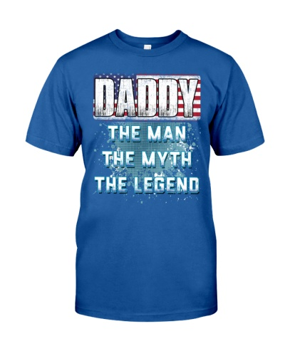 DADDY Legend Fathers Day Independence Day