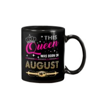 This Queen Was Born On 16TH Mug thumbnail