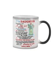 To My Daughter - Love Mom Mug Color Changing Mug thumbnail