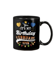 February 17th Birthday Gift T-Shirts Mug thumbnail