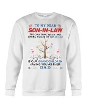 To My Dear Son-In-Law Crewneck Sweatshirt thumbnail