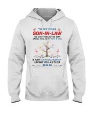 To My Dear Son-In-Law Hooded Sweatshirt thumbnail