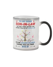 To My Dear Son-In-Law Color Changing Mug thumbnail