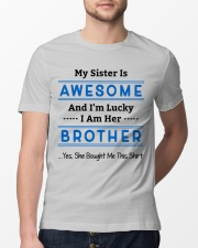My Sister Is Awesome Classic T-Shirt lifestyle-mens-crewneck-front-13
