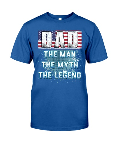 DAD Legend Fathers Day Independence Day