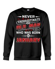 OLD MAN - JANUARY Crewneck Sweatshirt thumbnail