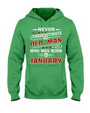 OLD MAN - JANUARY Hooded Sweatshirt thumbnail
