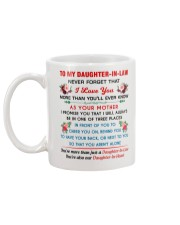 To My Daughter-In-Law Mug back