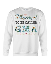 Blessed to be called Gma Crewneck Sweatshirt tile